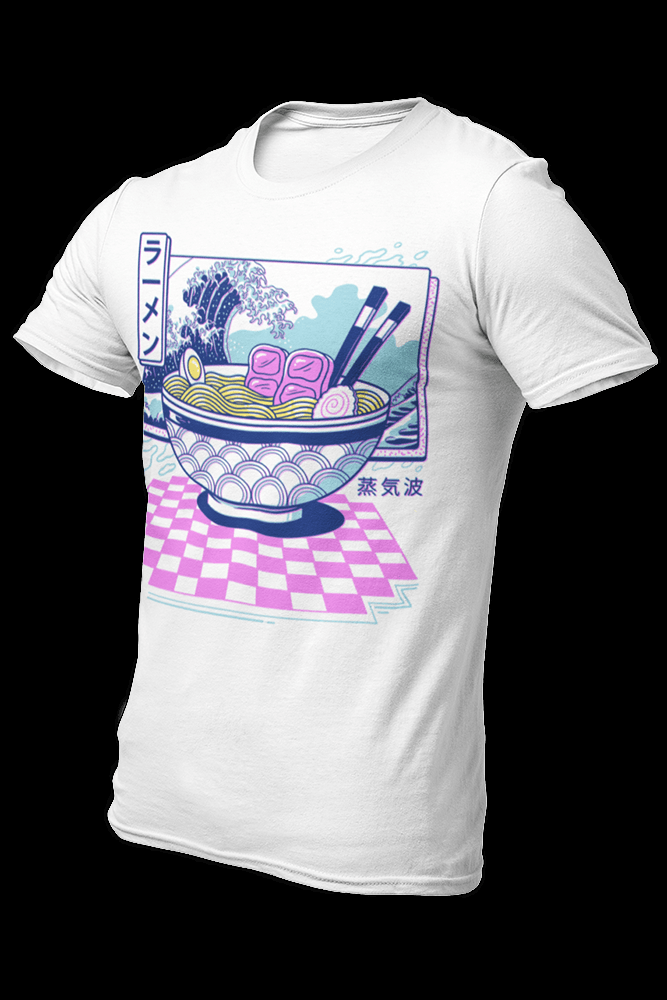 Vaporwave Ramen Sublimation Dryfit Shirt