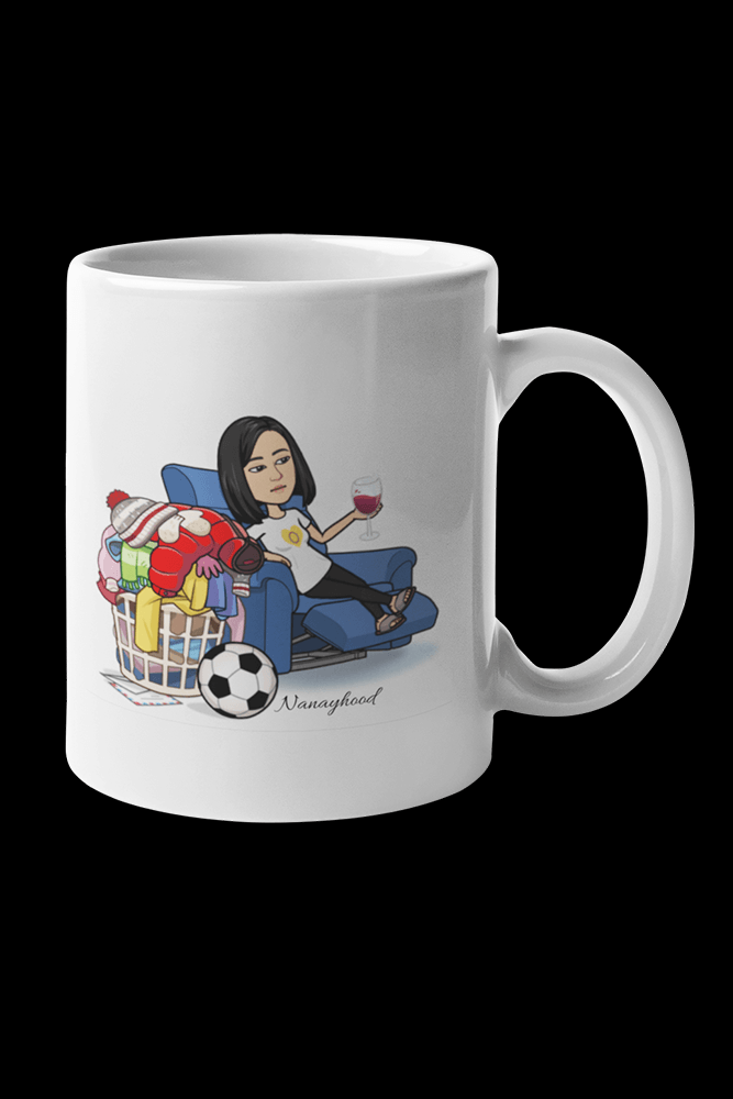 Nanayhood Laundry Sublimation White Mug