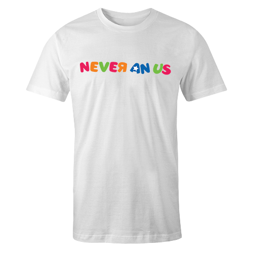 Never an us Sublimation Dryfit Shirt