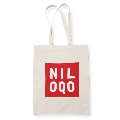 Niloqo Sublimation Canvass Tote Bag