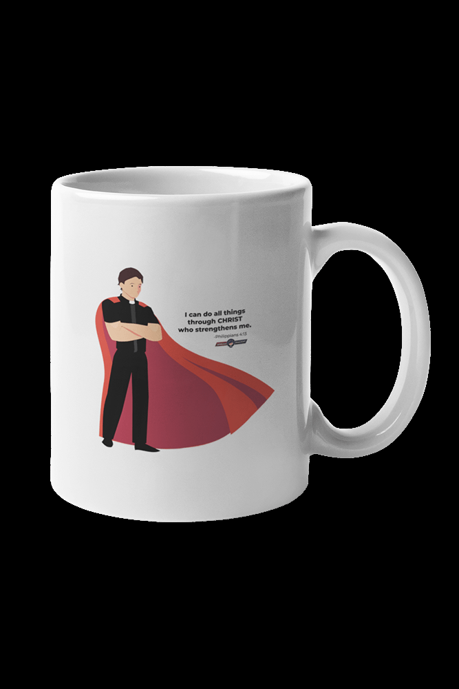 All By Grace Sublimation White Mug