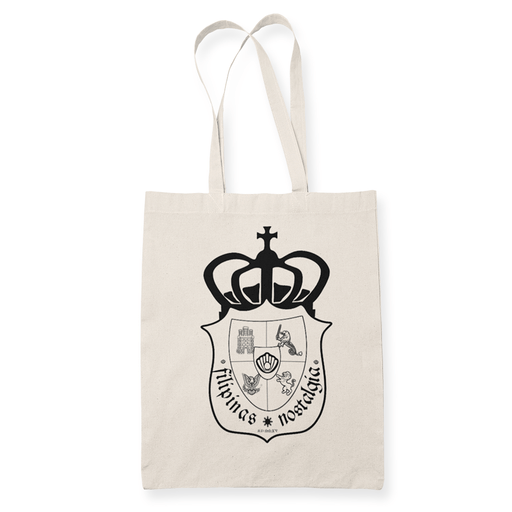 Filipinas Nostalgia Seal Sublimation Canvass Tote Bag