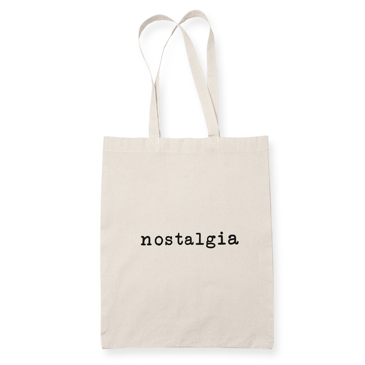Nostalgia Sublimation Canvass Tote Bag