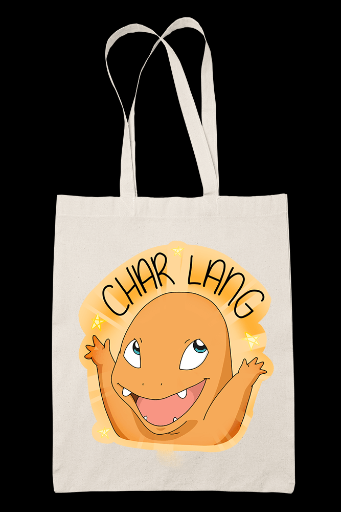 Char lang Sublimation Canvass Tote Bag