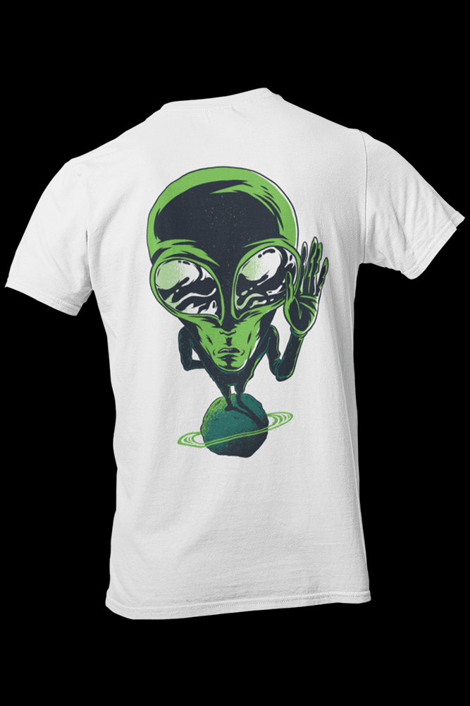 Alien v7 Sublimation Dryfit Shirt Front and Back Print