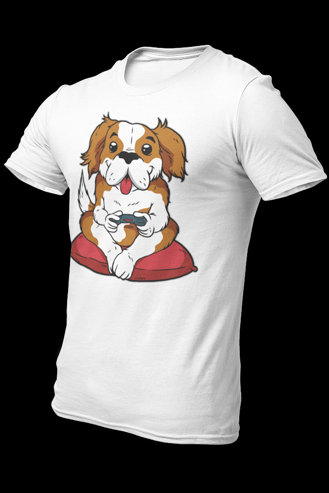 Dog Gamer Sublimation Dryfit Shirt
