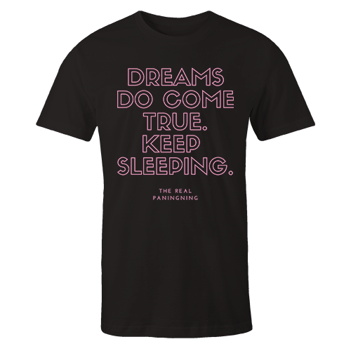 Dreams do come true Black Cotton Shirt