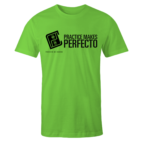 PMP Black on Lime Green Shirt
