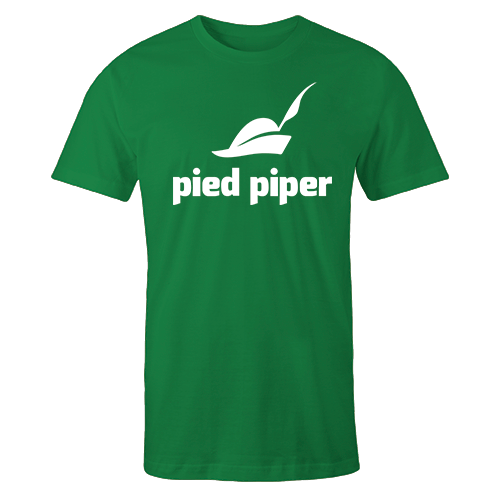 Pied Piper Green Cotton Shirt