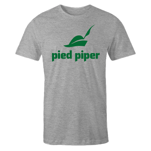 Pied Piper Grey Cotton Shirt