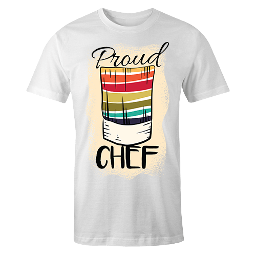 Proud chef Sublimation Dryfit Shirt