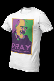 Padre Pio Sublimation Dryfit Shirt w/Logo At The Back