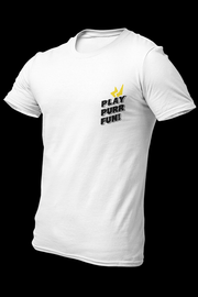 Play Purr Fun White Cotton Shirt With Back Print