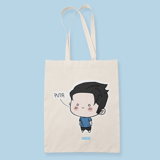 Puta Sublimation Canvass Tote Bag