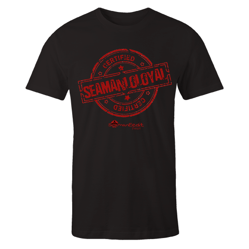 Seamanloloyal Black Cotton Shirt