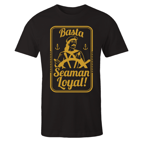 Basta Seaman Loyal v1 G5 Black Cotton Shirt