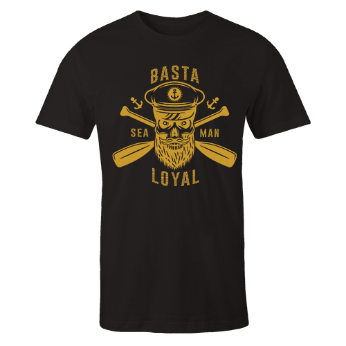 Basta Seaman Loyal v3 G5 Black Cotton Shirt