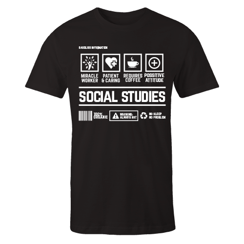 Social Studies Handling Black Cotton Shirt