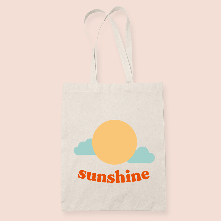 coffee & midnights sunshine sublimation canvas tote bag