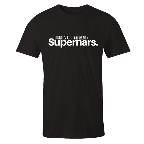 Limited Supernars Black Cotton Shirt