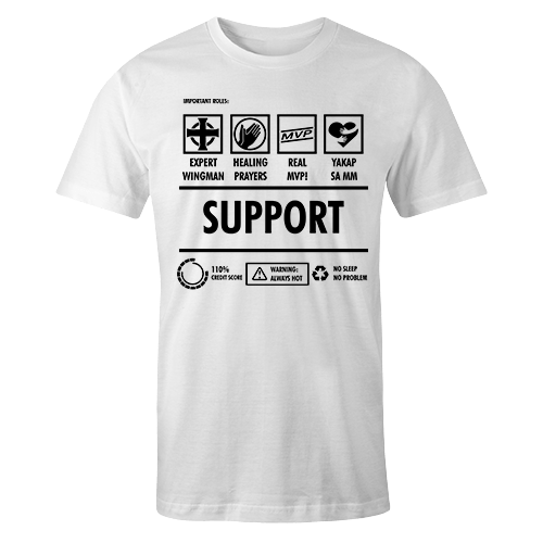 Support Cotton Shirt