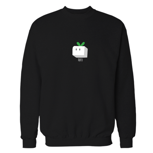Tofu Black Embroidered Sweatshirt