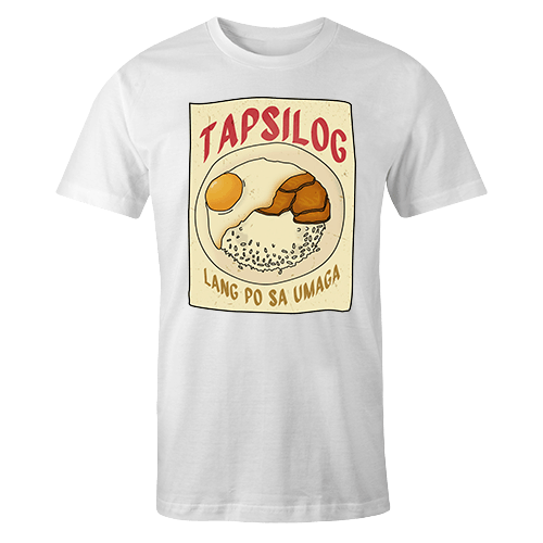 Tapsilog Sublimation Dryfit Shirt