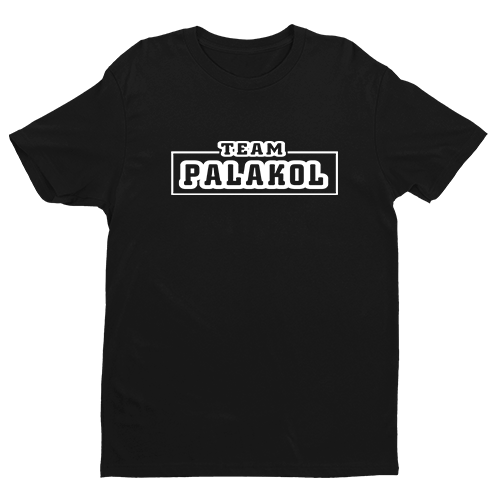 Team Palakol Black Cotton Shirt
