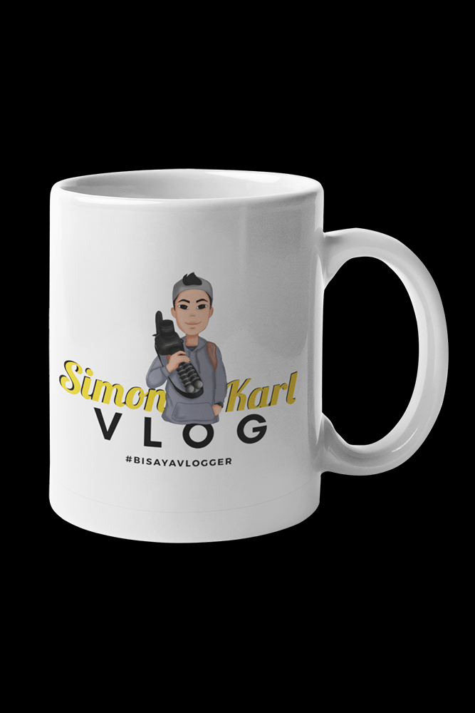 Simon Karl VLOG #BisayaVlogger Sublimation White Mug
