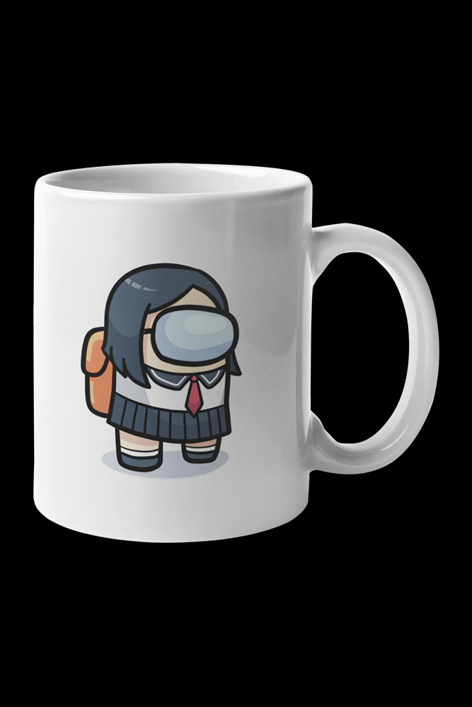 Short Haired Crewmate Sublimation White Mug