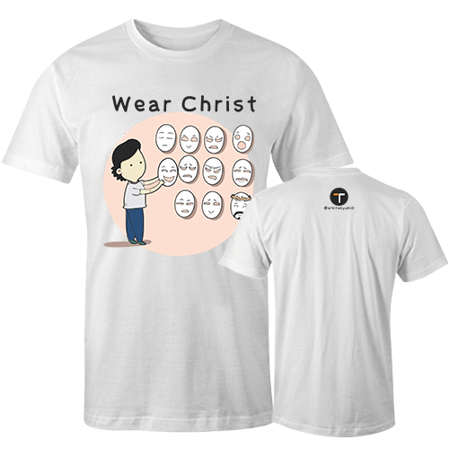 Wear Christ Sublimation Dryfit Shirt With Logo At The Back