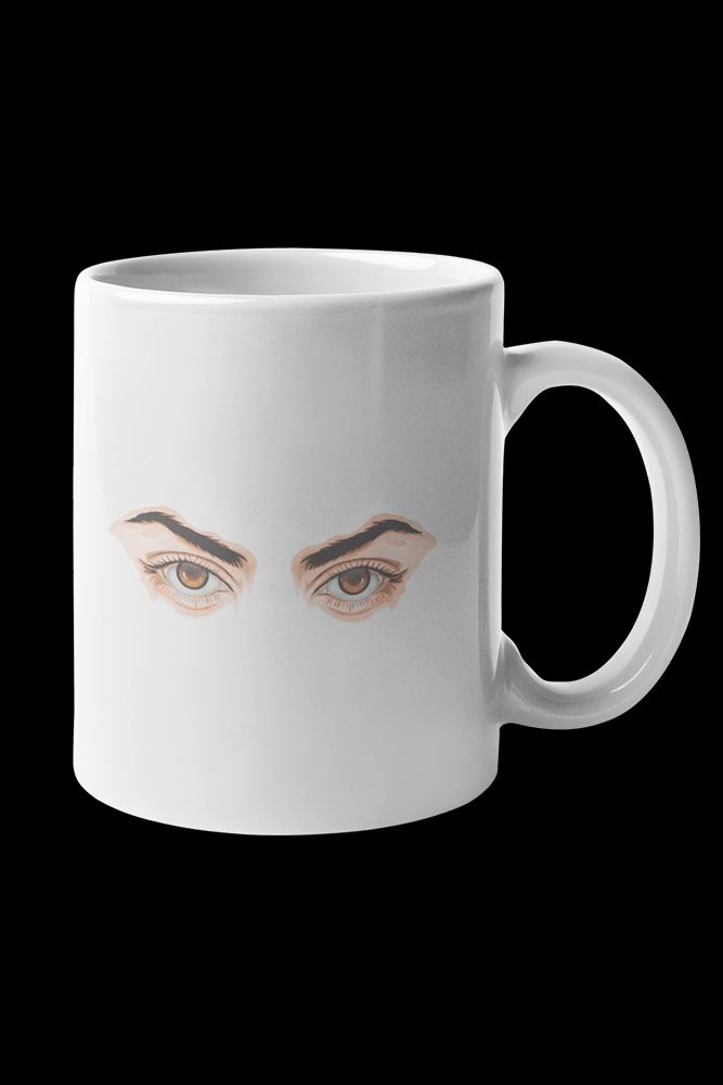 Axel eyes Sublimation White Mug