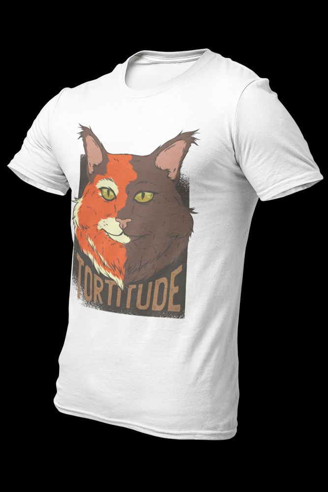 Cat Tortitude Sublimation Dryfit Shirt