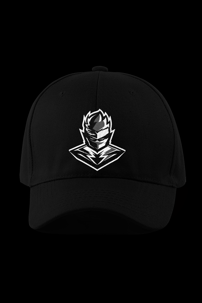 Calad Logo Black Embroidered Cap