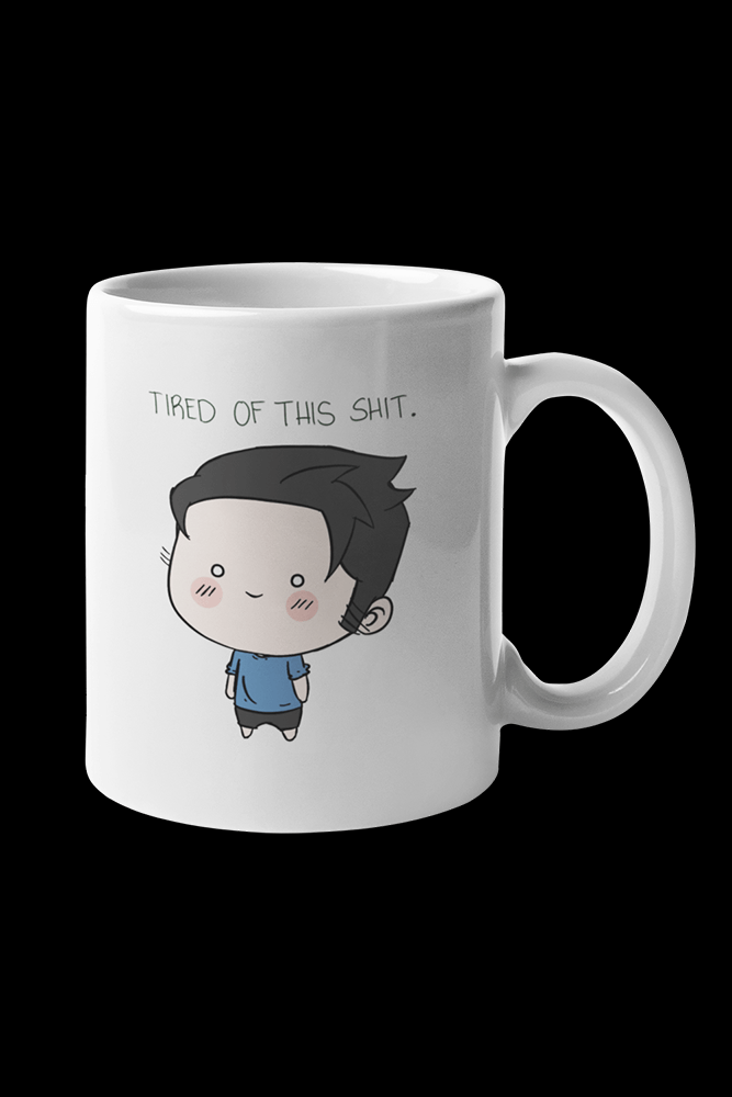 Tired of this Sublimation White Mug