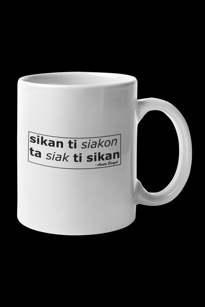 sikan ti siakon Sublimation White Mug
