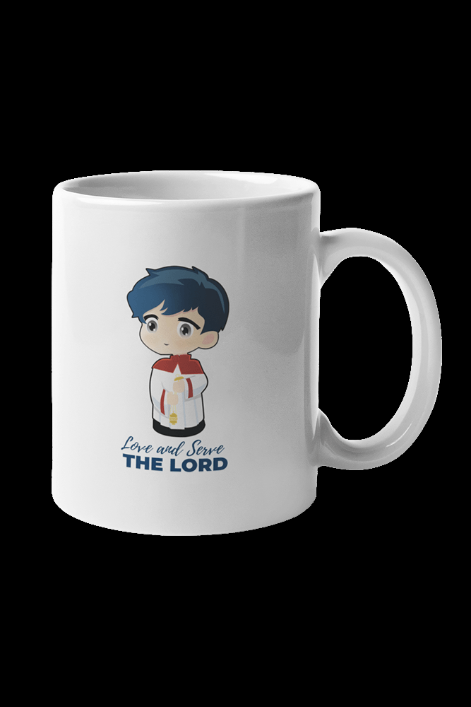 Altar Server Sublimation White Mug