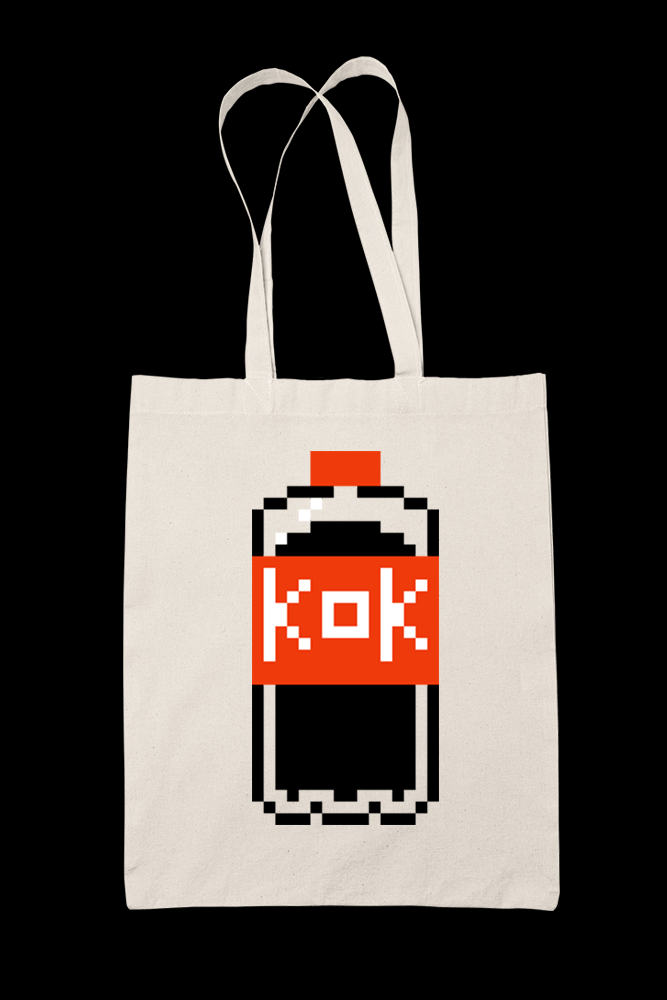 KOK v2 Sublimation Canvass Tote Bag