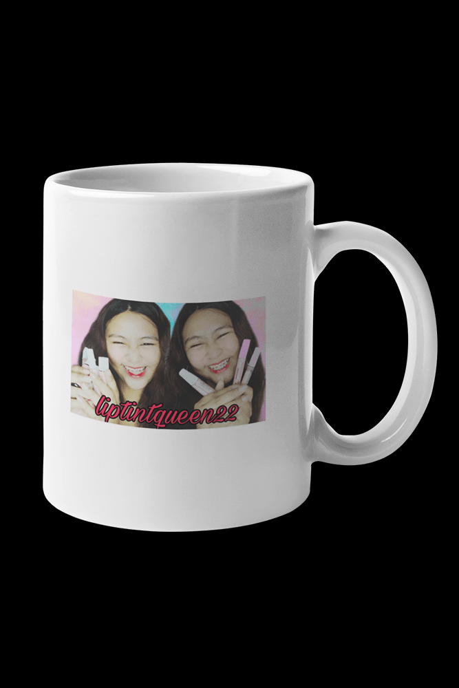 Liptint Queen Cover Photo Sublimation White Mug