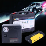 Newest 68800MAH Car Jump Starter USB et Power Bank Battery With avec mini compresseur