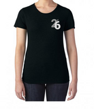 TwentiSix Ladies Curved Hem Crew T-Shirt