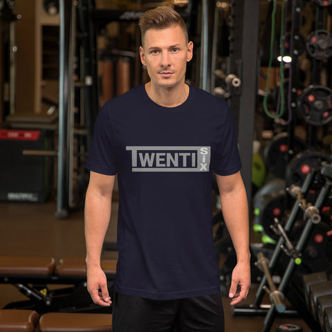 TwentiSix Dakota Navy Unisex T-Shirt