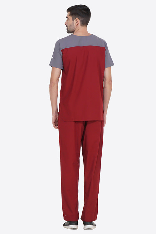 BARN SCRUB TOP