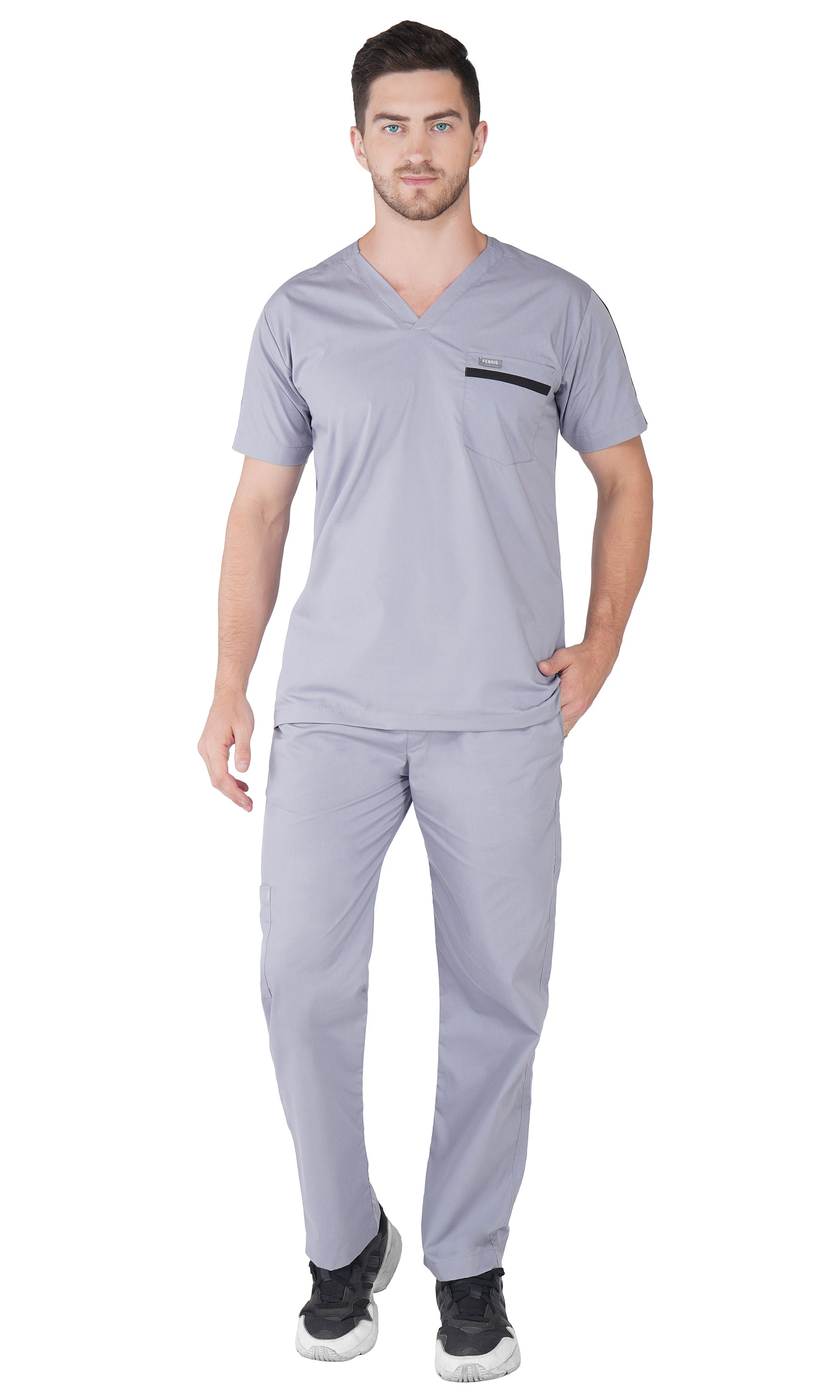 PHILLIP SCRUB TOP