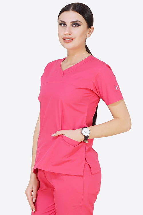 COLO SCRUB TOP