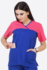 VISALIA SCRUB TOP