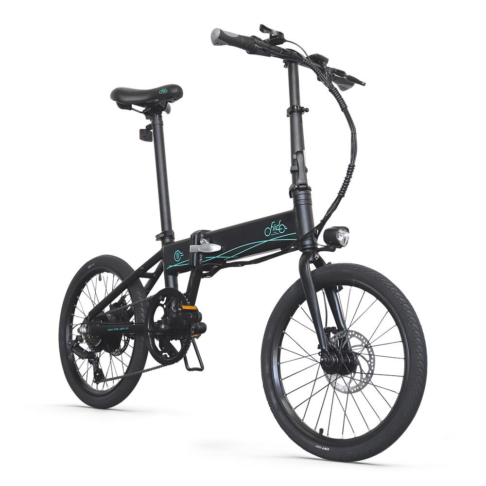 Fiido D4S - Lightweight Folding Electric Bike 20