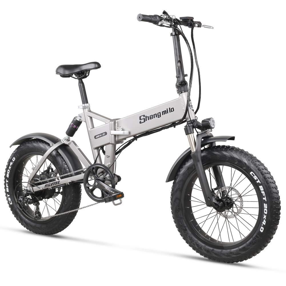 Shengmilo MX21 Plus - Electric Fat Foldable eBike 20