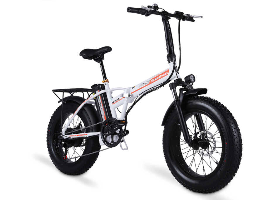Shengmilo MX20 Plus - Electric Fat Foldable eBike 20