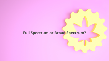 Full Spectrum and Broad Spectrum: What´s the difference? - 420 Chill